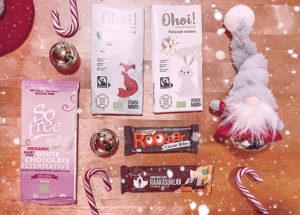 Maidottomia ja kooksettomia suklaita